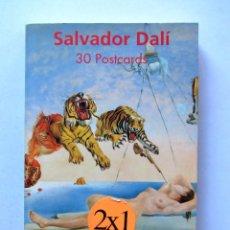 Postales: POSTALES SALVADOR DALI ( 30 POSTALES). Lote 170545236