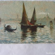 Postales: POSTAL ACUARELA VENECIA. 1929. TROQUELADA. Lote 63252884