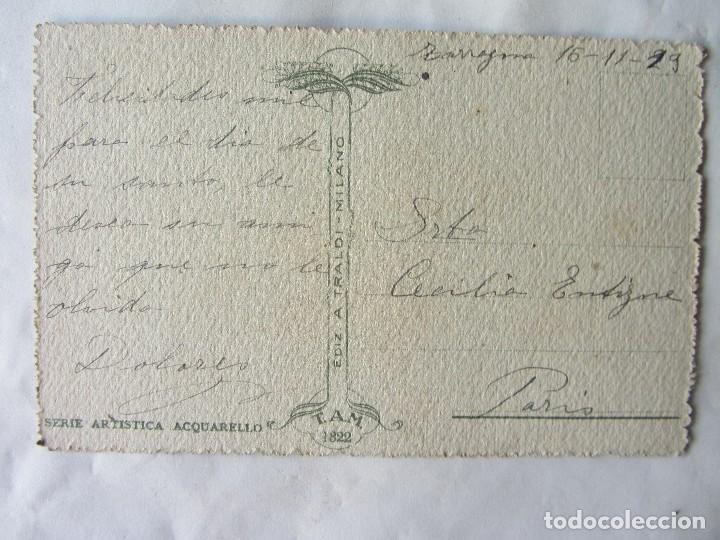 Postales: POSTAL ACUARELA VENECIA. 1929. TROQUELADA - Foto 2 - 63252884