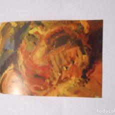 Postales: POSTAL EXPOSICION PINTURAS, DIBUJOS Y GRABADOS DE CARMELO SERRANO. LOGROÑO MARZO 1994. TDKP8. Lote 63337484