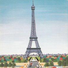 Postales: PINTURA NAIF - CRISTINA BORONDO - PARIS - NOTRE DAME - COLCCION PERLA 82 - PAGSA -1981 - NUEVA. Lote 64332047