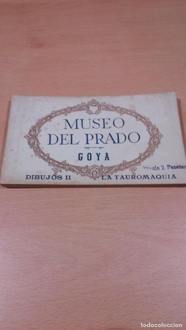 20 POSTALES GOYA TAUROMAQUIA ,MUSEO PRADO,VER FOTOS (Postales - Postales Temáticas - Arte)