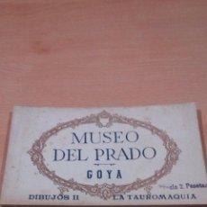 Postales: 20 POSTALES GOYA TAUROMAQUIA ,MUSEO PRADO,VER FOTOS. Lote 65662730