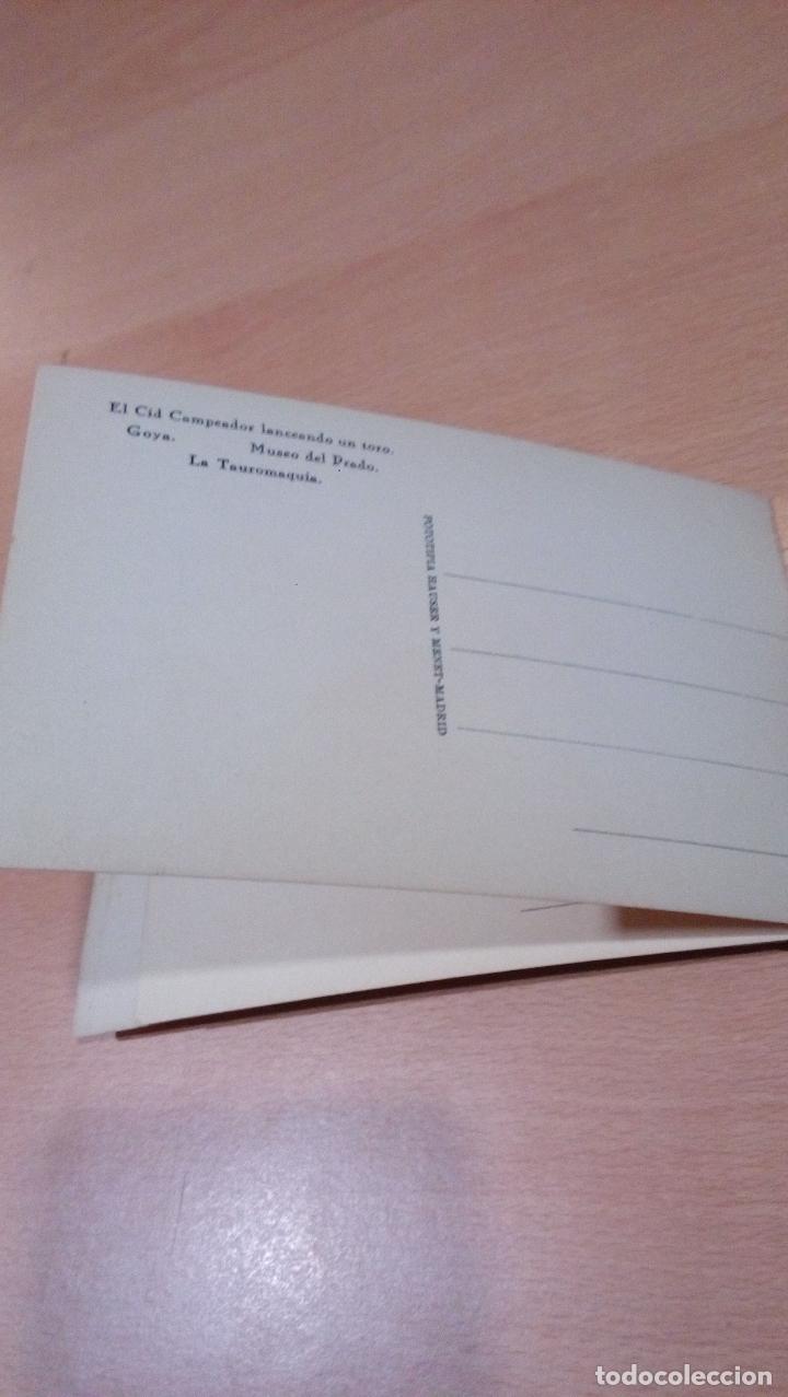 Postales: 20 postales Goya tauromaquia ,Museo prado,ver fotos - Foto 5 - 65662730
