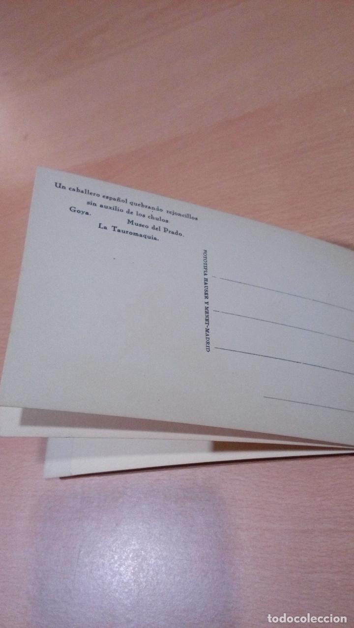 Postales: 20 postales Goya tauromaquia ,Museo prado,ver fotos - Foto 7 - 65662730