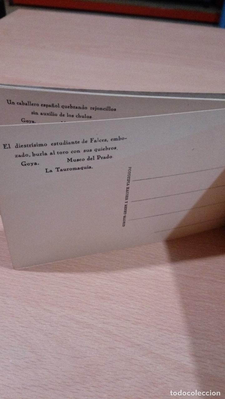 Postales: 20 postales Goya tauromaquia ,Museo prado,ver fotos - Foto 9 - 65662730