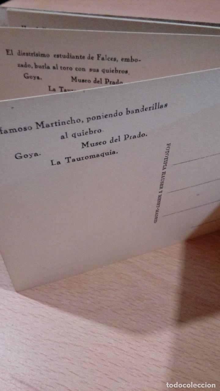 Postales: 20 postales Goya tauromaquia ,Museo prado,ver fotos - Foto 11 - 65662730