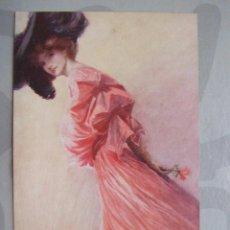 Postales: POSTAR ANTIGUA - OILETTE , IN A GARDEN FAIR POSTCARD 2733 - FECHADA 1907. Lote 66111582