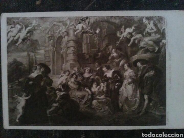Postales: Ocho POSTALES cuadros varios artistas clásicos sin circular - Foto 8 - 66281763