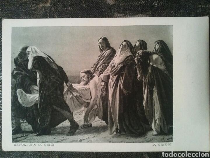 Postales: Cinco Postales de dos cuadros de importantes Artistas Sin Circular - Foto 3 - 66282197