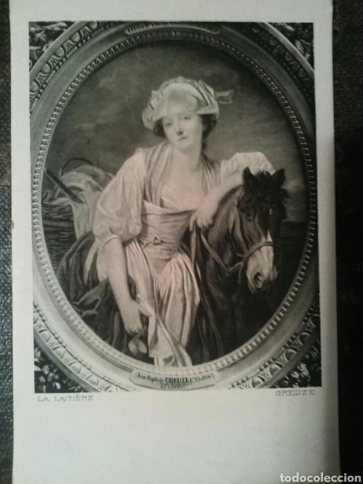 Postales: Cinco Postales de dos cuadros de importantes Artistas Sin Circular - Foto 5 - 66282197