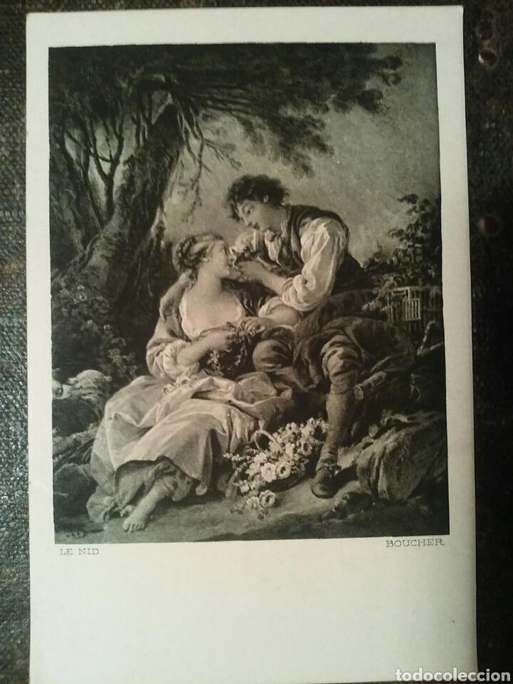 Postales: Cinco Postales de dos cuadros de importantes Artistas Sin Circular - Foto 6 - 66282197