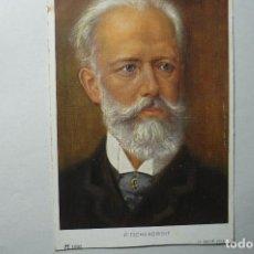 Postales: POSTAL MUSICA EXTRANJERA P.TSCHAIKOWSKY --BB. Lote 67182437