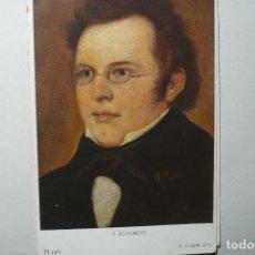 Postales: POSTAL MUSICA F.SCHUBERT BB. Lote 67183497