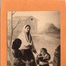 Postales: PINTURA - CUADROS CÉLEBRES - HISTORIA DE ESPAÑA - LOS POBRES EN LA FUENTE- TAPICES DE GOYA -AÑOS 30. Lote 67420133