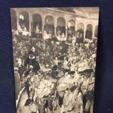 Postales: HISPANIC SOCIETY OF AMERICA SOROLLA SEVILLA BULLFIGHTERS PROVINCES OF SPAIN POSTAL. Lote 67878321