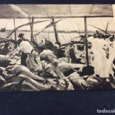 Postales: HISPANIC SOCIETY OF AMERICA SOROLLA AYAMONTE PROVINCES OF SPAIN POSTAL. Lote 67879385