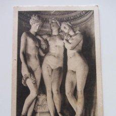 Postales: MUSÉE DE VERSAILLES. LES TROIS GRACES. J. PRADIER.. Lote 68774421