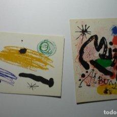 Postales: LOTE POSTALES PINTOR JUAN MIRO BB. Lote 69002085