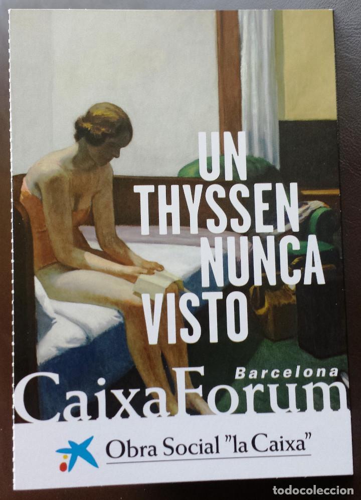 Postales: Tira de Tarjetas Postales Cuadros Colección Museo Thyssen Exposición CaixaForum - Foto 2 - 71571623