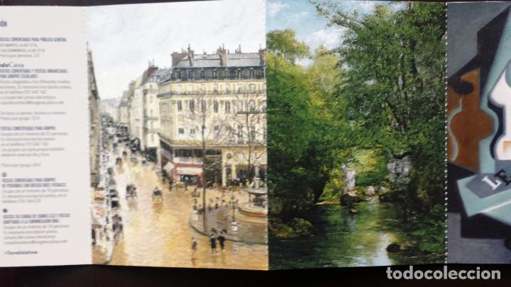 Postales: Tira de Tarjetas Postales Cuadros Colección Museo Thyssen Exposición CaixaForum - Foto 4 - 71571623