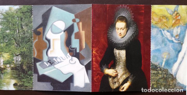 Postales: Tira de Tarjetas Postales Cuadros Colección Museo Thyssen Exposición CaixaForum - Foto 5 - 71571623