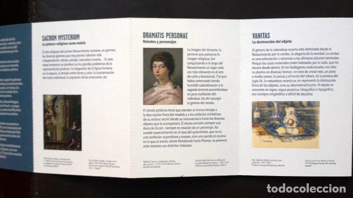 Postales: Tira de Tarjetas Postales Cuadros Colección Museo Thyssen Exposición CaixaForum - Foto 6 - 71571623