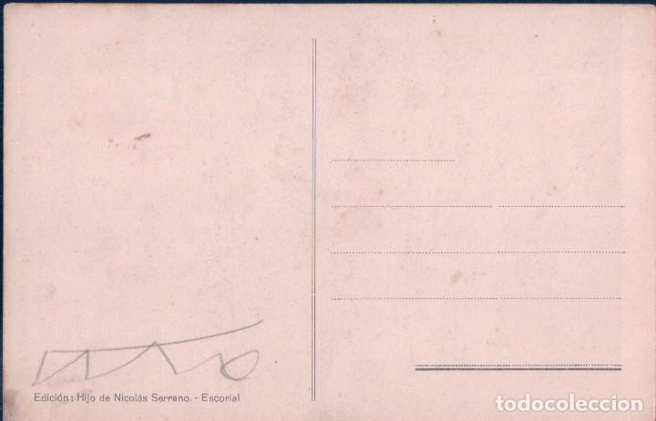 Postales: POSTAL ESCORIAL, SALAS CAPITULARES, LA PRESENTACION DE LA VIRGEN AL TEMPLO - HIJO DE NICOLAS SERRANO - Foto 2 - 71640091