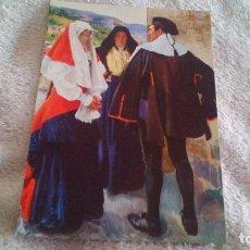 Postales: TIPOS DEL RONCAL (NAVARRA) - JOAQUIN SOROLLA BASTIDA - SIN CIRCULAR. Lote 72049399