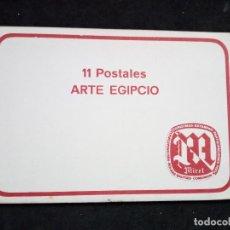 Postales: PRECIOSA COLECCION DE 11 POSTALES. ARTE EGIPCIO. MIRET.. Lote 72373447