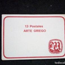 Postales: PRECIOSA COLECCION DE 13 POSTALES. ARTE GRIEGO. MIRET.. Lote 72373563