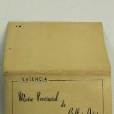 Postales: BP- 95. BLOC POSTALES VALENCIA.MUSEO PROVINCIAL DE BELLAS ARTES. ED. GARCIA GARRABELLA.. Lote 72558247