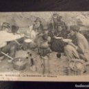 Postales: POSTAL ANTIGUA 1904 - GM 41 MARSEILLE , LA BOUILLABAISE AU CABANON - CIRCULADA Y FECHADA. Lote 73624491