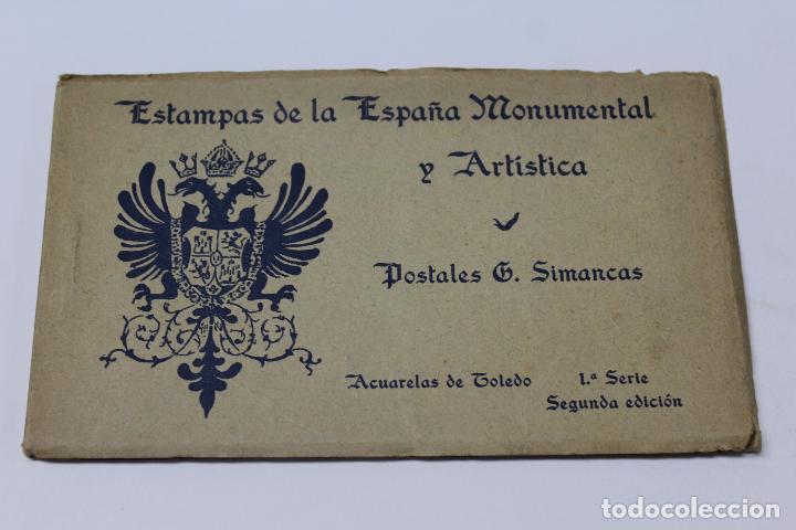 P- 6359. ESTAMPAS DE LA ESPAÑA MONUMENTAL Y ARTISTICA. G.SIMANCAS. 1º SERIE 2º EDICION. (Postales - Postales Temáticas - Arte)