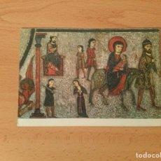 Postales: POSTAL MUSEO DE ARTE DE CATALUÑA. HUÍDA A EGIPTO Y DEGOLLACIÓN DE LOS INOCENTES. Nº37. ESCUDO DE ORO. Lote 75422639