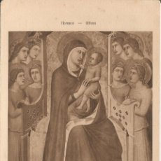 Postales: LORENZO DI CREDI (1459 - 1537), LA VIERGE ET L'ENFANT JÉSUS - ED. BRAUN & CIE - S/C. Lote 75685775