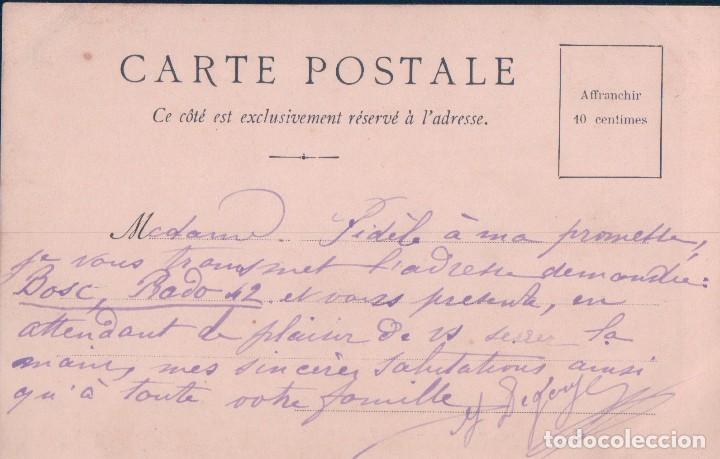 Postales: POSTAL LE RAT ET L HUITRE - ESCRITA - Foto 2 - 78453193