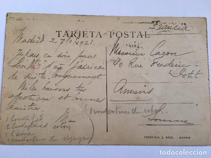 Postales: RM400 TARJETA POSTAL ORIGINAL VELAZQUEZ FOTOTIPIA J. ROIG - Foto 2 - 80240981