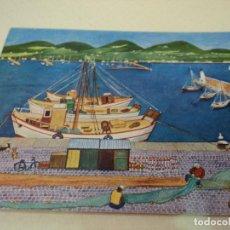 Postales: MARGOT TATE IBIZA PUERTO CIRCULADA. Lote 81665324
