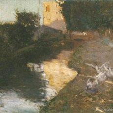 Postales: POSTAL CUADRO DE JOAQUIN MIR I TRINXET (1873-1940) LA SÈQUIA - EDICIONES DAVID - S/C. Lote 82136524
