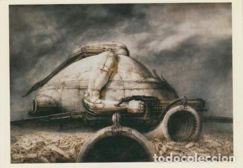 32 POSTALES CON OBRAS DE HANS RUDOLF GIGER. CIENCIA FICCIÓN, ALIEN. (Postales - Postales Temáticas - Arte)