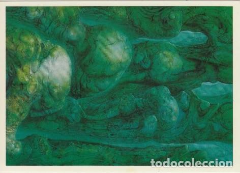 Postales: 32 postales con obras de Hans Rudolf Giger. Ciencia ficción, Alien. - Foto 4 - 82162796
