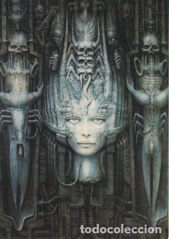 Postales: 32 postales con obras de Hans Rudolf Giger. Ciencia ficción, Alien. - Foto 6 - 82162796