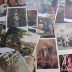 Postales: 36 POSTALES ANTIGUAS DE PINTORES. Lote 84908276