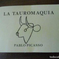Postales: LA TAUROMAQUIA P. PICASSO (26). Lote 86485860