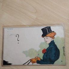 Postales: POSTAL IL·LUSTRADA D'H. MEUNIER. AU BOIS.. Lote 87115599