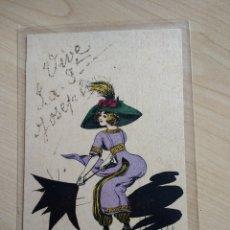 Postales: POSTAL IL·LUSTRADA DE G. MOUTON. NOS FEMMES EN CULOTTE.. Lote 87117488