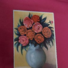 Postales: BONITA POSTAL. PRECIOSO JARRON FLORES. SERIE FLORES C.. Lote 89019880