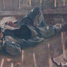 Postales: POSTAL LA SIESTA. J.M. LOPEZ. EDC. N. COLI SATIETI 354 - MUSEO ARTISTICO DE BARCELONA. Lote 89208476