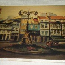 Postales: POSTAL LA FAROLA ACUARELA DE G. MOURON MARTIN 1996. Lote 98813322